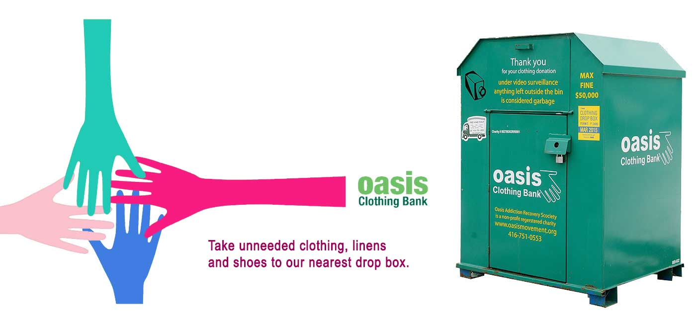 Who We Are Oasis Clothing Bank Toronto Ontario Canada